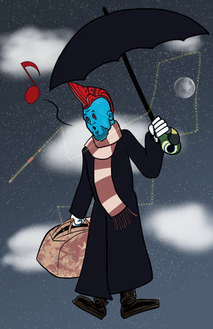 I'm Mary Poppins Ya'll - Yondu Guardians of the Galaxy Fan Art