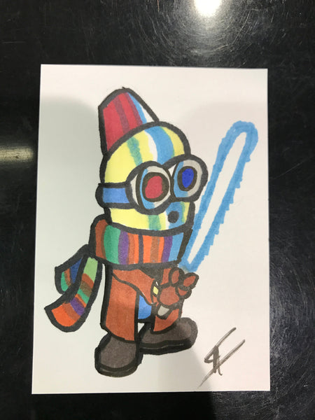 Sketch Card Commission (Markers)