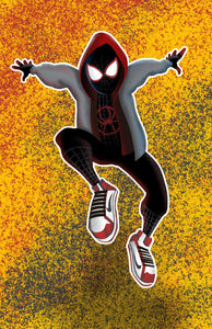 Miles Morales Spider-man Graffiti style Fan Art with Air Jordans