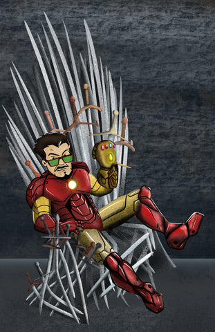 Tony Stark | King of the North | Game of Thrones Parody | Avengers Endgame