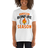 It's Always Bonfire Season T-Shirt - White