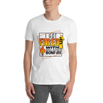 I got fired up with Small Business Bonfire T-Shirt - White