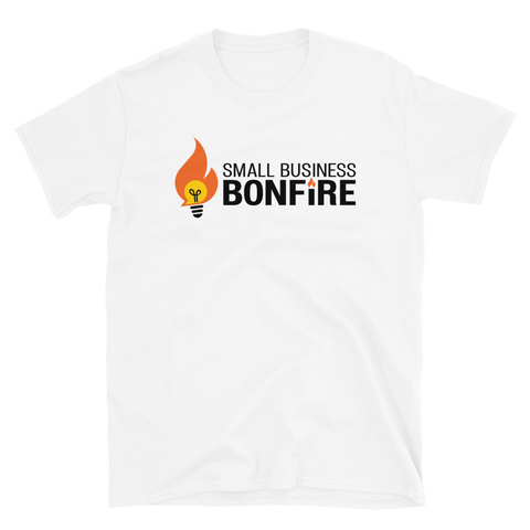 Bonfire Logo T-Shirt - White