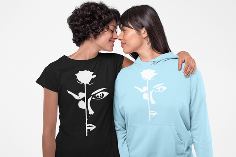 rosa peace hoodie and shirt