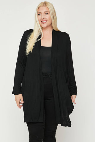 Open Front, Lightweight Cardigan