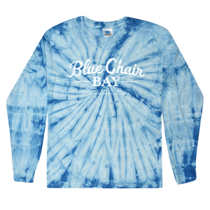 Tie-Dye Long Sleeve Tee - Baby Blue