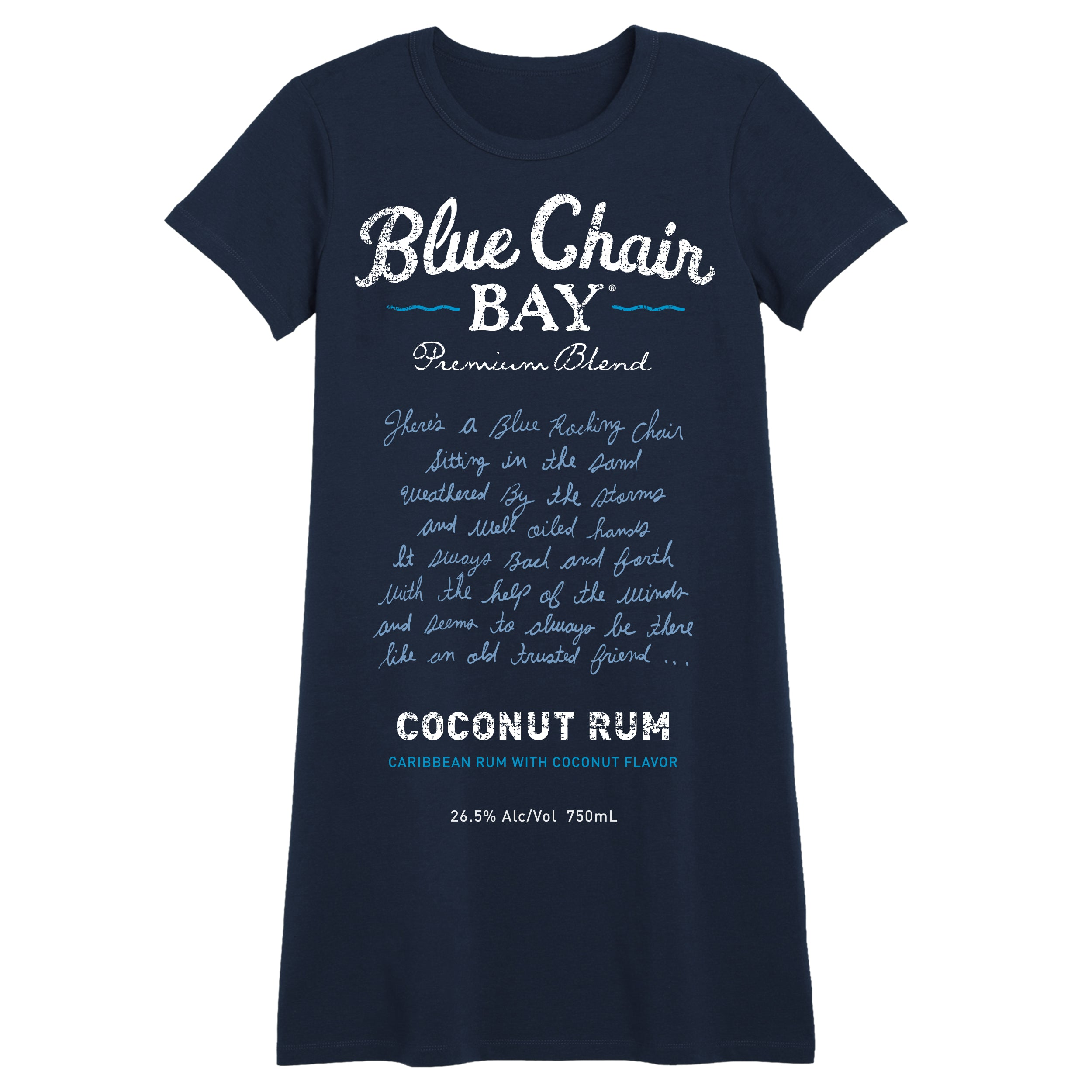 Coconut Rum T-Shirt Dress