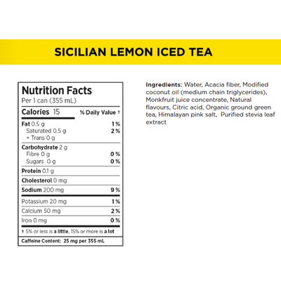 Lemon Phat Tea - Case Pack 12 - (12oz/355ml)