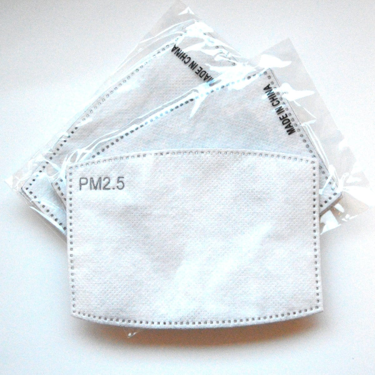 Filters for standard face mask