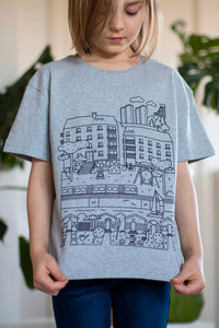 Herttoniemi t-shirt, kids size 134-140