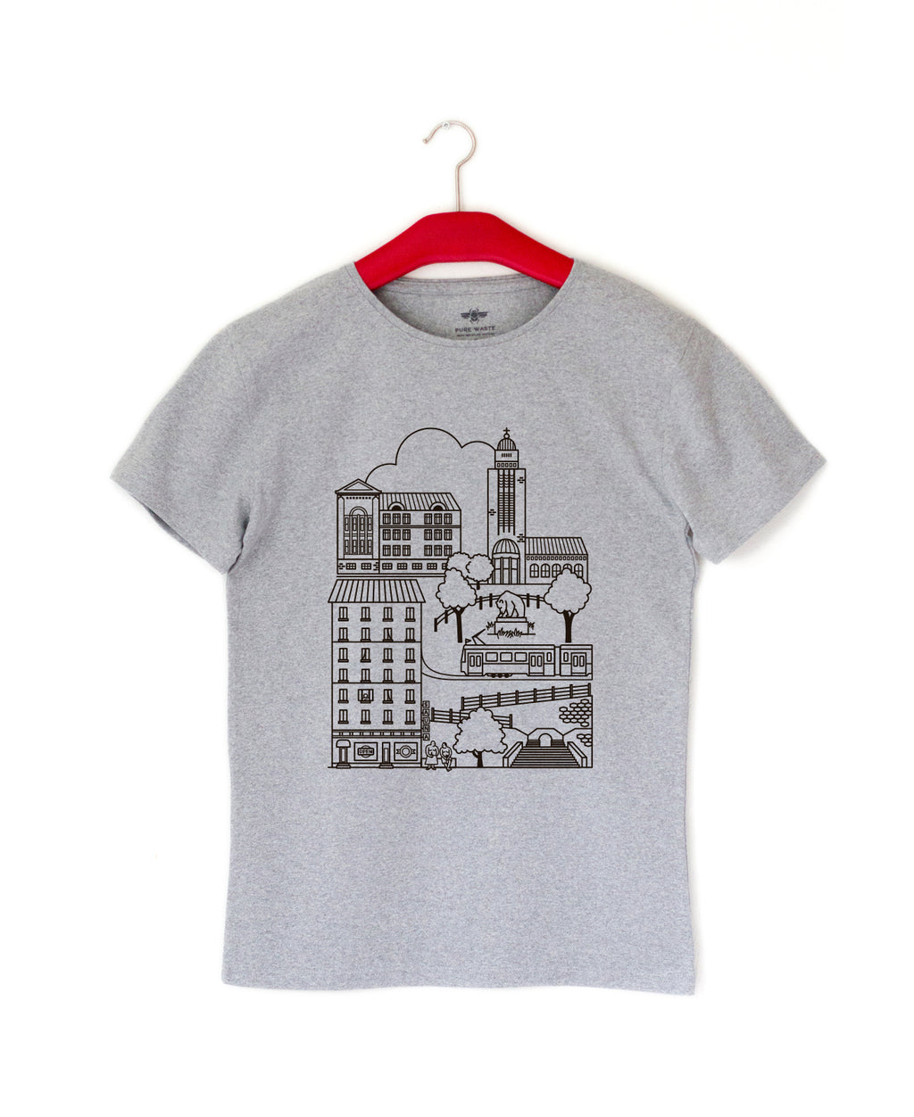 Kallio t-shirt, adults