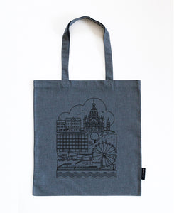 Katajanokka denim bag