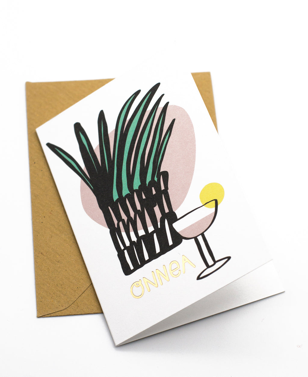 Drinkki mini greeting card