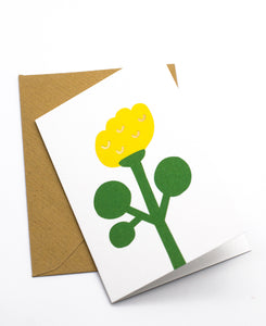 Kukka mini greeting card