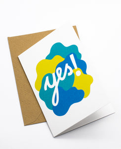 Yes! Mini Greeting Card