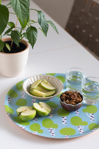 Koivu tray, table setting