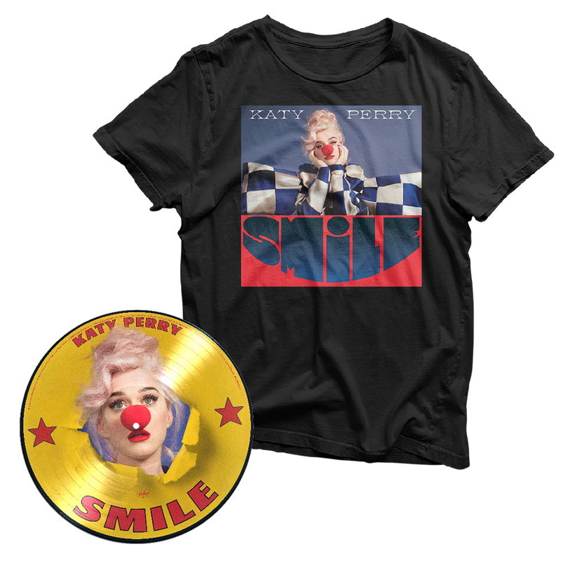 PICTURE VINYLE EXCLUSIF + TEESHIRT | SMILE