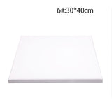 White Blank Rectangle Canvas Board Wooden Frame Art Artist Oil Acrylic Paints - S@Ssons
