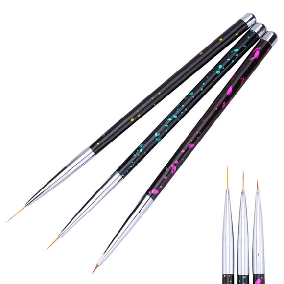 Dot Nail Art Liner Brush Set Flower Grid Image DIY Drawing Painting Pen Kit - S@Ssons