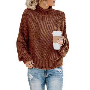 Cardigan thick thread turtleneck pullover - S@Ssons