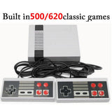 500/620 Classic Games Mini 8 Bit Built-In Retro Handheld Game Player AV Port TV Game Console Kids Stay Home Video Gaming Console - S@Ssons