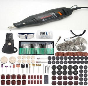 180W Electric Dremel Drill with 186 pcs