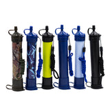 Portable Purifier Straw Water Filter Personal Survival Kit Emergency Gear Super water filtration Wild Outdoor essential Tool