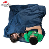 Naturehike Splicing Envelope Sleeping Bag Ultralight Adult Portable Outdoor Camping Hiking Sleeping Bags Spring Autumn 1.9*0.75m