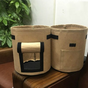 Plant Bag Potato Grow Container Bag DIY Planter PE Cloth Planting Vegetable Gardening Thicken Vegetable Pot Planting Grow Bag - S@Ssons
