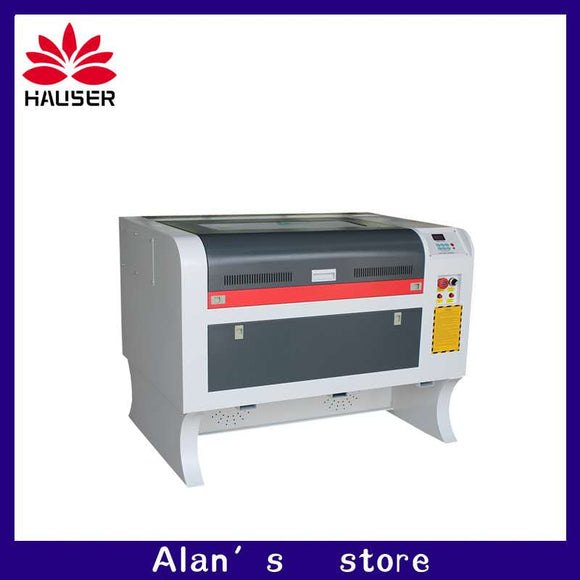 Free shipping 50w 4060 co2 laser engraving machine 220v/100v laser cutter machine laser CNC,High configuration laser engraver