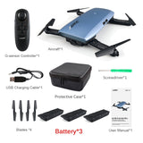 JJRC JJR/C H47 ELFIE Plus FPV with HD Camera Upgraded Foldable Arm WIFI 6-Axis RC Drone Quadcopter Helicopter VS H37 Mini E56 - S@Ssons