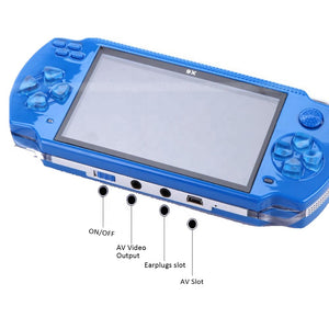 4.3-inch touch screen X8 game console PSP portable built-in game 1000 for sale - S@Ssons
