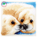 Animal seal Needlework Latch hook rug kits Pillowcase Diy Carpet embroidery cross stitch thread embroidery kit Home Decoration - S@Ssons