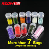 60 Bottles Diamond Embroidery Painting Tool Container Storage Box Carry Case Holder Hand Bag Zipper Design Shockproof Durable