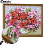 "Dispaint Full Square/Round Drill 5D DIY Diamond Painting ""Tower sunset scenery""Embroidery Cross Stitch 3D Home Decor Gift A12099"