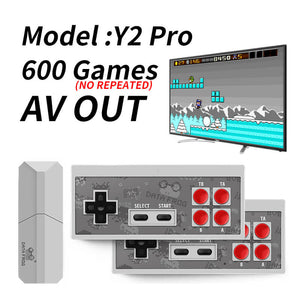 RETROMAX Video Game Console Retro Game Build-in 620/600/568 AV/HDMI Output For TV Plug And Play - S@Ssons