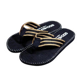 Men Adult Solid Summer Outside Flip Flops Flower Slippers - S@Ssons
