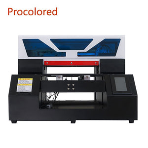 Procolored 2020 Textile DTG Printers A3 Print Size for T Shirt Clothes Jeans Tshirt Printing Machine Garment A4 Flatbed Printer