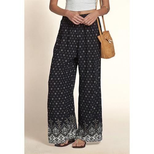 Fashion Women Dots Embroidery Leggings Black - S@Ssons