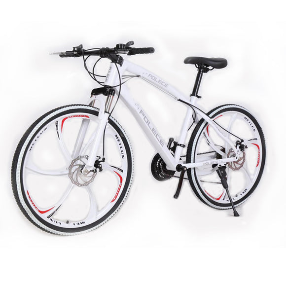 New Python shaped mountain bike 26 inch one wheel double disc brake gift car export car