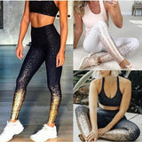 patched work Yoga Set workout workouts young wemon Pants Leggings Push Yoga Pants midsunny season workouts dress - S@Ssons