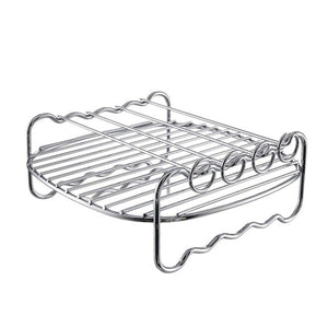 Air Frying Pan Accessories Fryer Baking Basket Pizza Plate Grill Pot Mat Bakeware Sets Kitchen Accessories Handmade Baking Tool