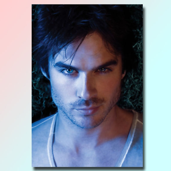 diamond painting full square/round,The Vampire Diaries,diamond painting,Home Decoration,Poster picture,Ian Somerhalder - S@Ssons