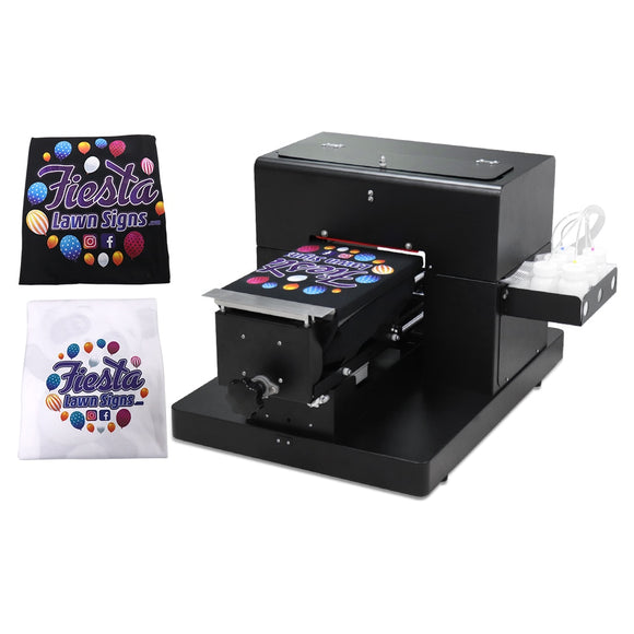 DTG Printer A4 Flatbed Printer For T-shirt PVC Card Phone Case Printer Multi color Printing Machine A4 High Quality