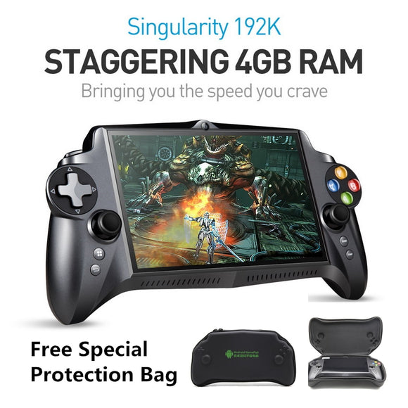 Singularity S192K 7 inch 1920X1200 quad core 4G/64GB Gamepad 10000mAh android 5.1 Tablet PC video game console 18 simulator game