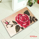 Carpet Embroidery Sets Latch Hook Rug Kits Cushion Latch Hook Embroidery Carpet Living Room Mat DIY Needlework Isolon In Rolls F