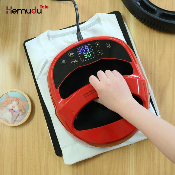 Mini Portable Heat Press Machine Sublimation Digital Transfer Printing MachineA3/A4 for T-shirts Transfer and Ironing