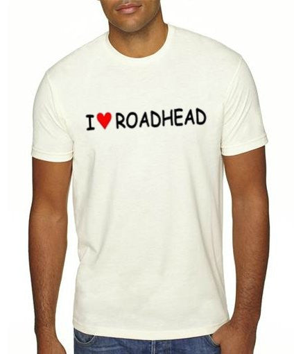 I LOVE ROADHEAD Shirt (White)