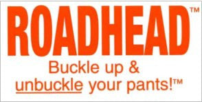 ROADHEAD - BUCKLE UP! Sticker