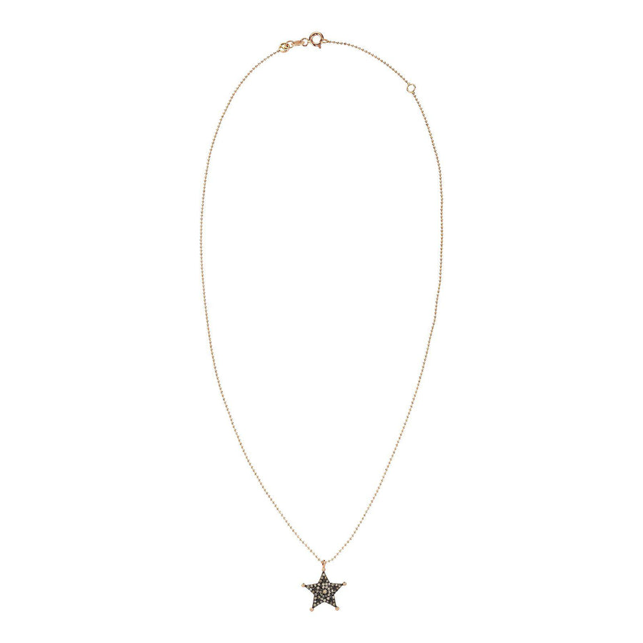 Small Sheriff Star Necklace